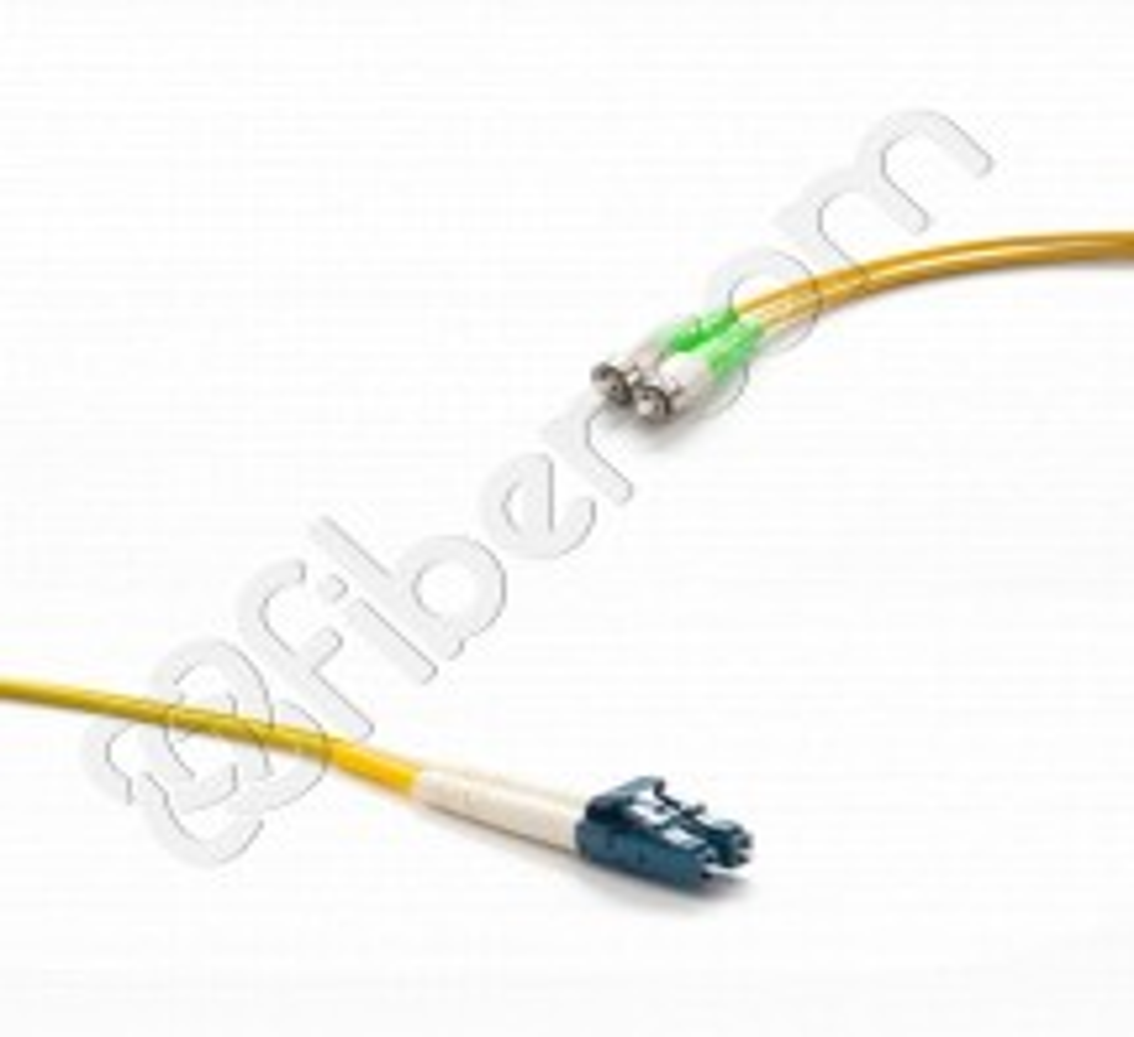 LATIGUILLO (PATCHCORD) FIBRA ÓPTICA SM(9/125) OS2 DOBLE FC/APC-LCD/PC 01 METROS