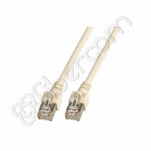 LATIGUILLO (PATCHCORD) 4 PARES UTP RJ45-RJ45 CAT6A LSZH GRIS 10 METROS