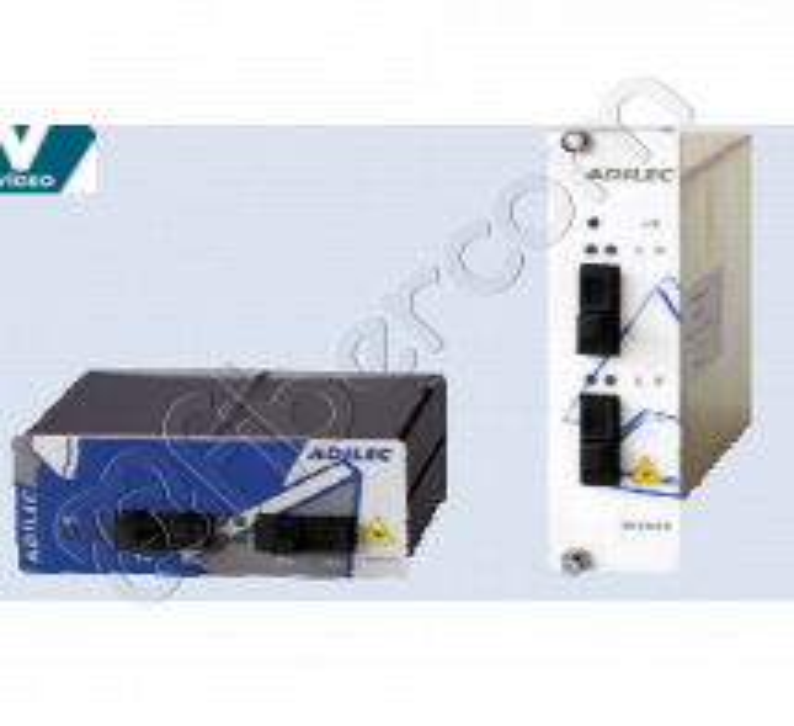 RECEPTOR DIGITAL VÍDEO 1 FIBRA ÓPTICA MM 1310 12-24Vac/Vcc DIN