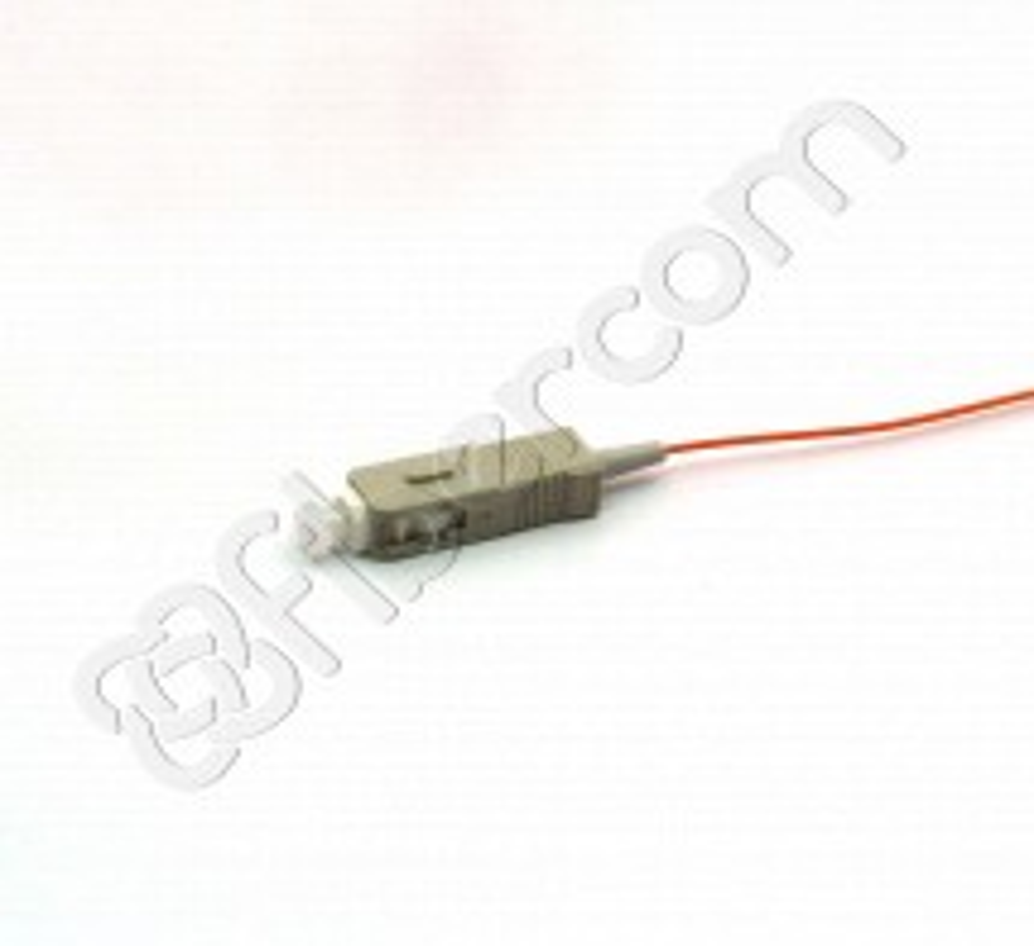 RABILLO (PIGTAIL) FIBRA ÓPTICA MM(62,5/125) SIMPLE SC/PC 02 METROS (900 um)